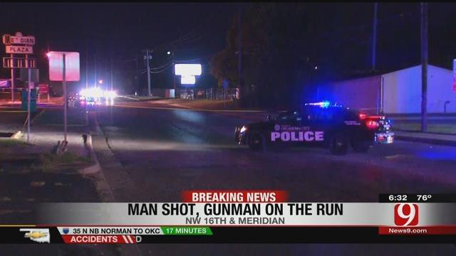 OKC Police Officer Finds Shooting Victim After Hearing Gunshots