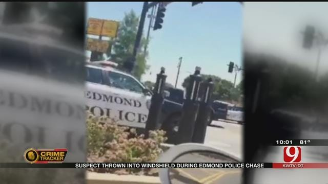Teen Captures End Of Edmond High Speed Chase On Video