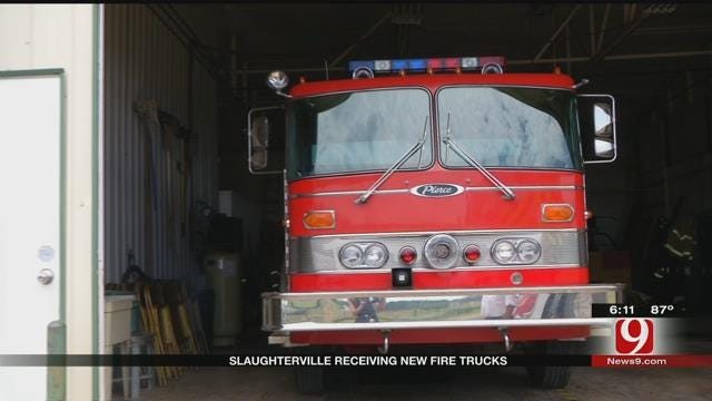 Slaughterville To Receive New Trucks After May Floods