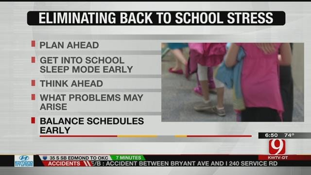 Tips On Reducing Back-To-School Stress