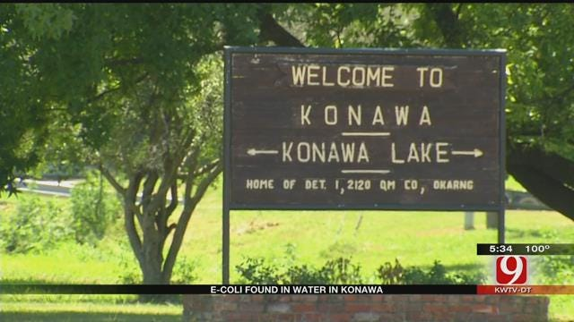 Warning: E. Coli Found In Konawa Water