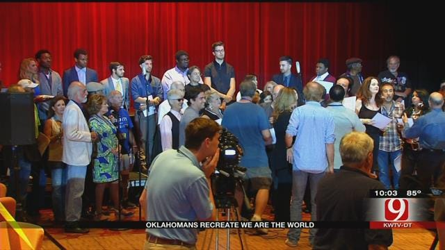 Oklahoma Singers Performed 'We Are The World' For Good Cause