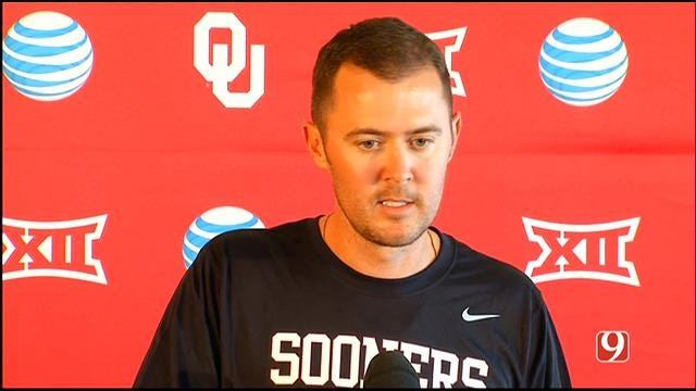 Lincoln Riley Speaks At OU Media Day