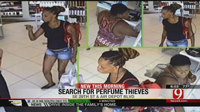 Midwest City Police Look For 'Smell Good Bandits'