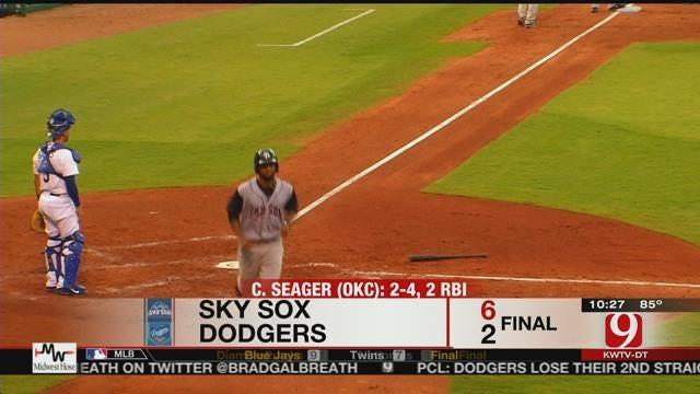 Sky Sox Soar Past Dodgers