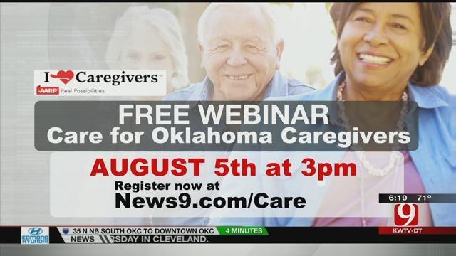 Free Web Seminar Wednesday To Help Oklahoma Caregivers