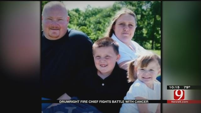 Drumright Fire Chief Battles Blood Cancer