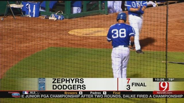 Dodgers Fall To Zephyrs