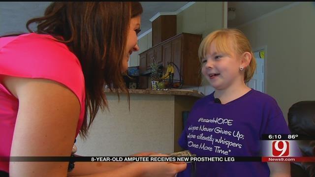 Bethel Acres Girl, 8, To Receive New Prosthetic For Running