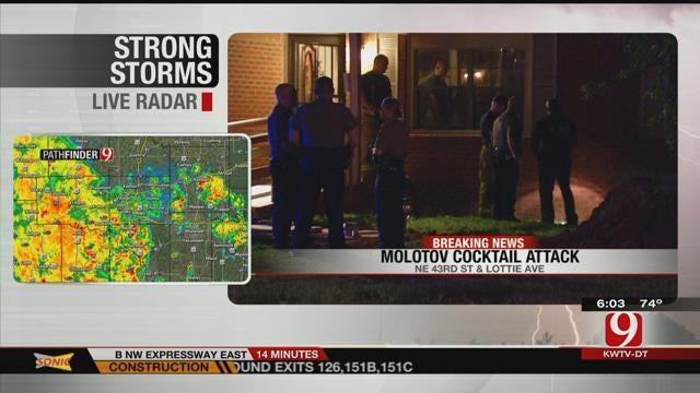 Investigators: Molotov Cocktail Started NE OKC House Fire