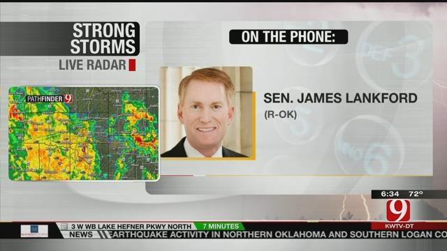 OK Senator Lankford Speaks After Bill To Defund Planned Parenthood Blocked