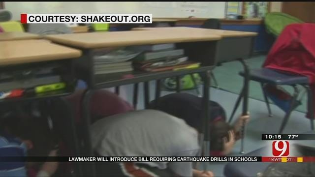 State Lawmaker Wants Earthquake Drills In Schools