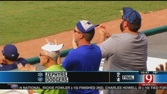 Dodgers Take Two From Zephyrs