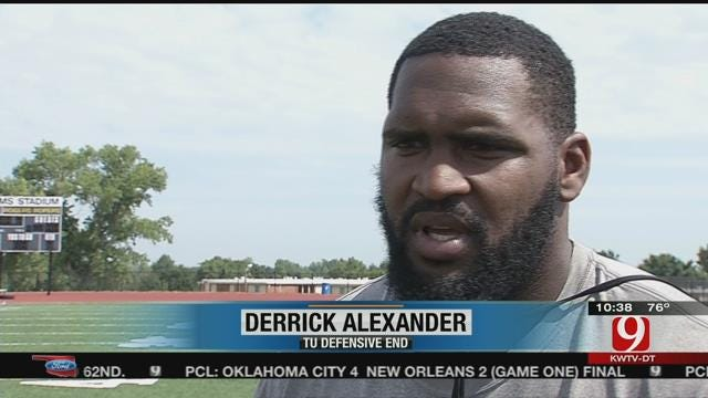 TU Football's Derrick Alexander On Righting The Ship
