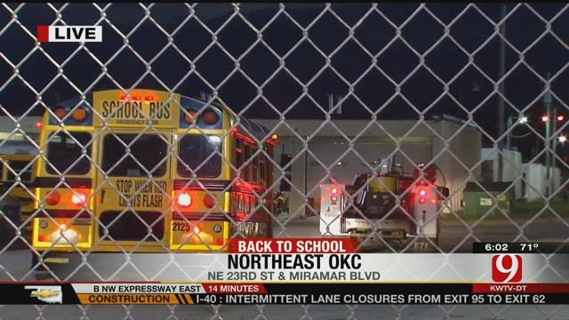 First Day Back To School For OKCPS Students