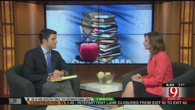 OK Superintendent Speaks To News 9 About New School Year