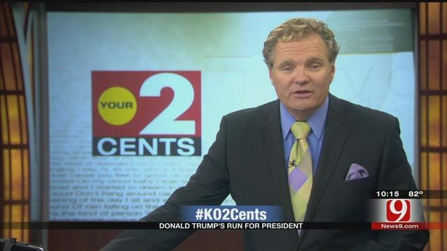 Your 2 Cents: Donald Trump's Run For President