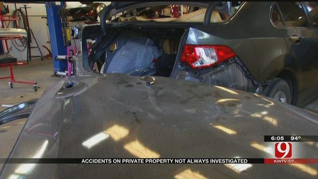 OKC Metro Man Foots Bill After Vehicle Is Hit On Private Property