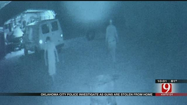 Burglars Steal 14 Firearms From NW OKC Home