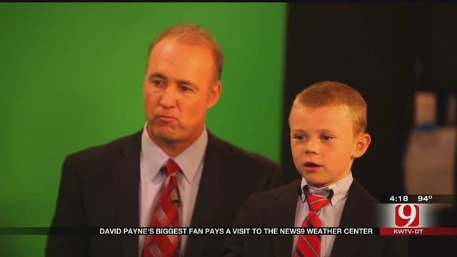 David Payne's Biggest Fan Surprises Him During Newscast