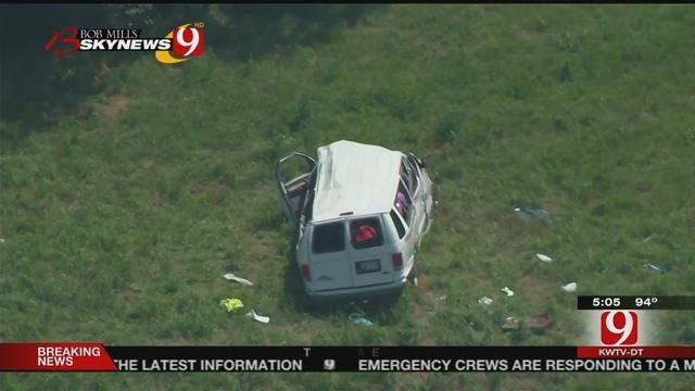 5-Year-Old Victim Talks About Shawnee Church Van Crash