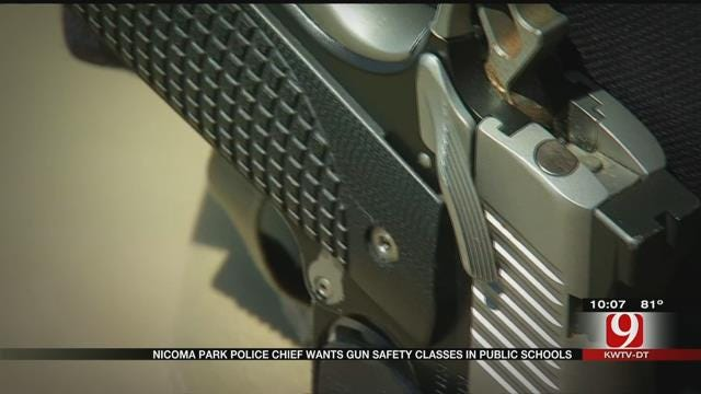 Nicoma Park Police Chief Wants Gun Safety Education After Near Tragedy