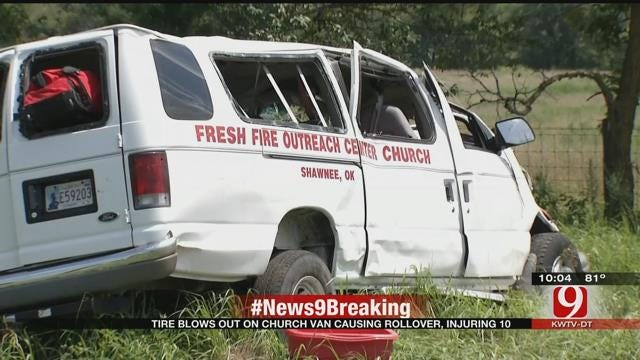 Shawnee Church Counts Its Blessings After Adair County Accident