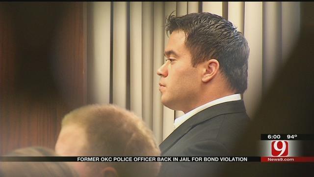Former OKC Police Officer Jailed For Second Bond Violation