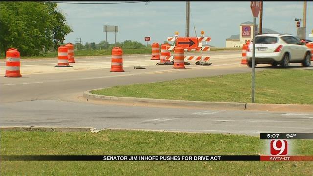 Senator Inhofe Pushes For DRIVE Act