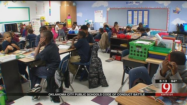 Debate Continues Over OKCPS Code Of Conduct Changes
