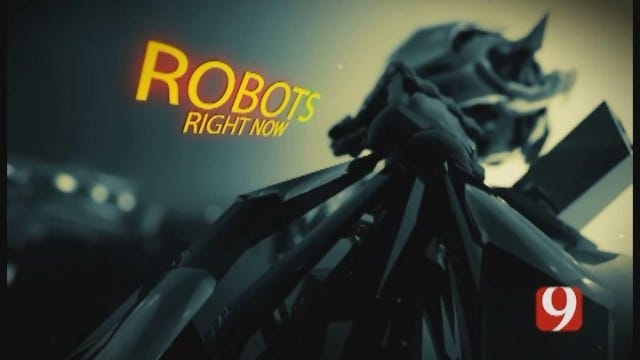 Robots, Right Now...