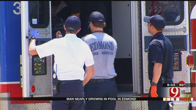 Metro Area Firefighters Work Two Near-Drownings Sunday