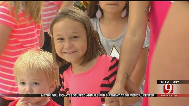 Metro Girl Donates Stuffed Animals For Birthday