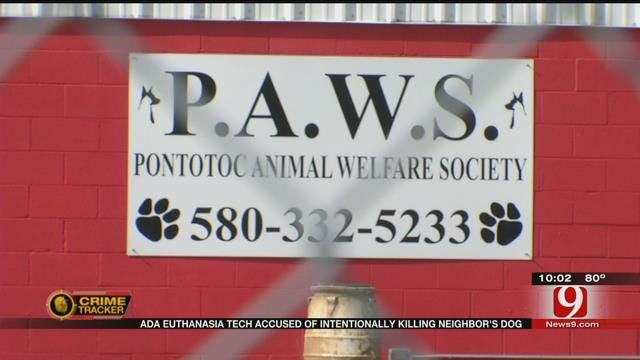 Ada Woman Accused Of Intentionally Killing Neighbor's Dog