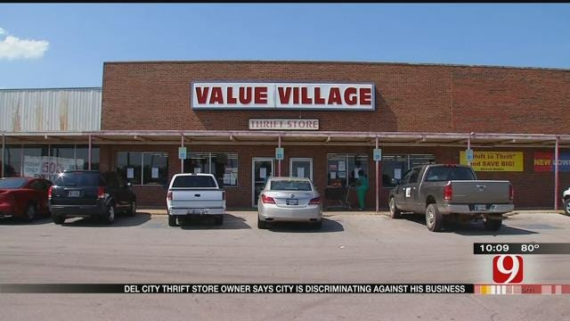 Del City Thrift Store Owner Accuses City Leaders Of Discrimination