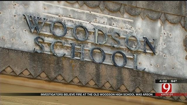 Authorities: Fire At Abandoned OKC School Intentionally Set