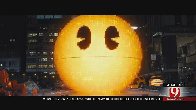 Dino's Movie Moment: Pixels, Southpaw