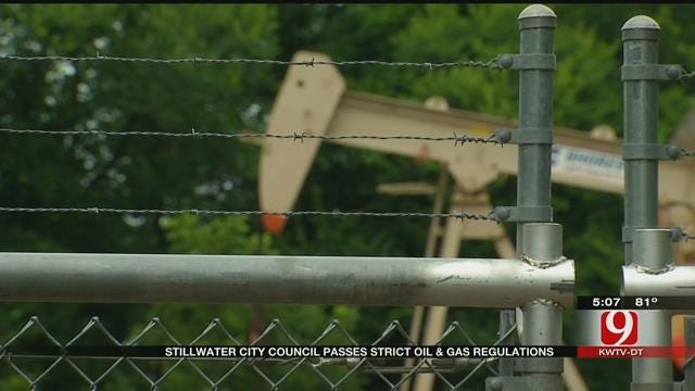 Stillwater City Council Passes Strict Regulations On Oil And Gas Drilling