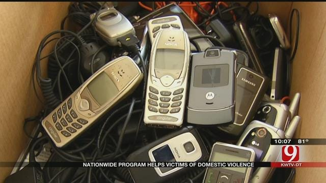 Law Officers Team Up With Verizon To Help Domestic Violence Victims