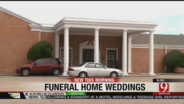 More Funeral Homes Becoming Wedding Venues