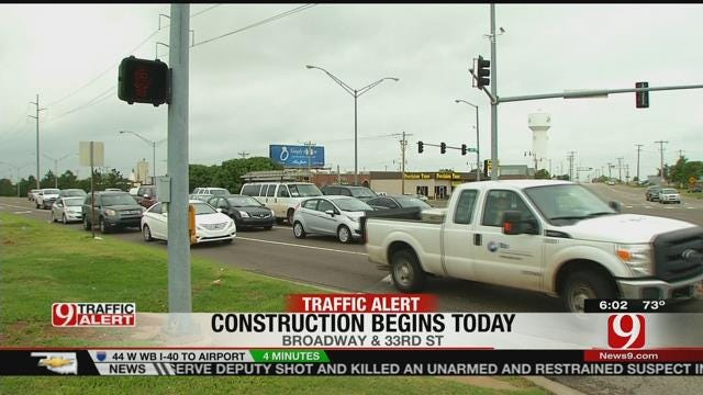 Construction To Begin At Busy Edmond Intersection