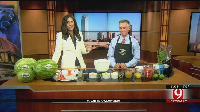 Made In Oklahoma: Watermelon Gazpacho