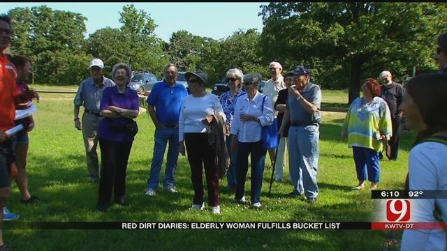 Red Dirt Diaries: Elderly Woman Dominates Bucket List