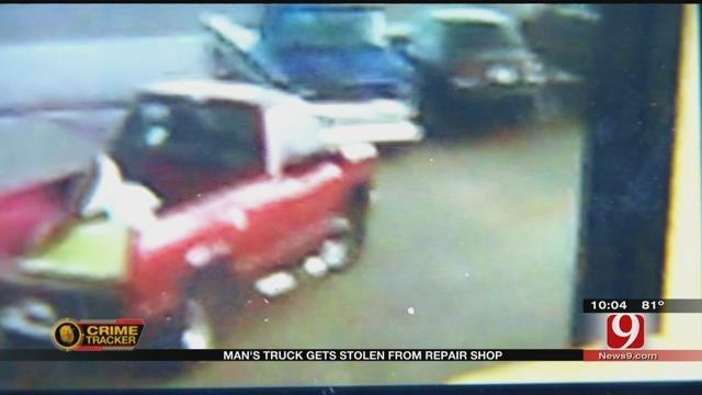Man's Truck Stolen From Metro Repair Shop