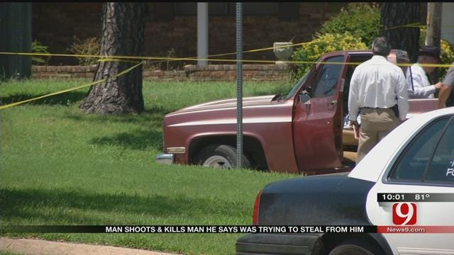 Homeowner Shoots and Kills Alleged Thief In SW OKC