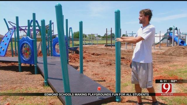 Edmond Schools Making Playgrounds Accessible For All Students