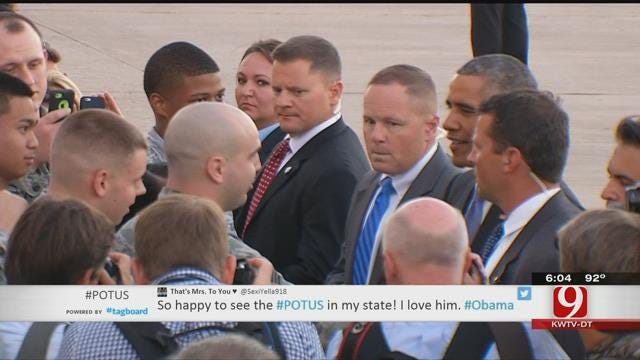 Residents Share Fun Stories From The President's Visit To Oklahoma
