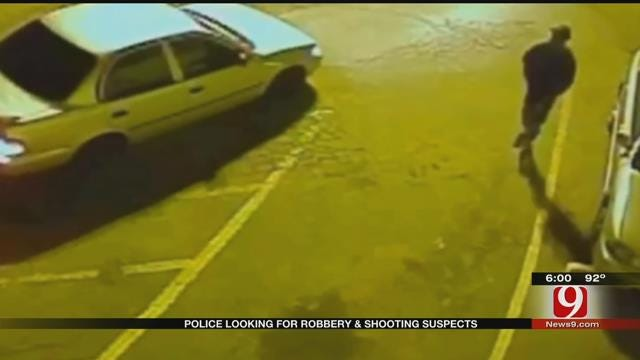 OKC Police Searching For Robbery and Shooting Suspects