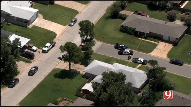 WEB EXTRA: SkyNews 9 Flies Over Deadly Shooting In SW OKC