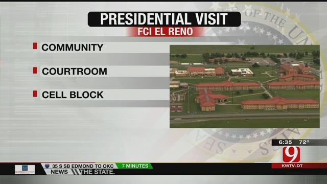 President Obama To Visit El Reno Federal Prison